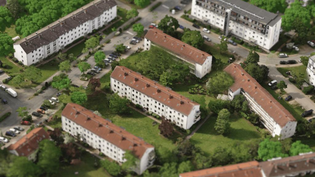 Texturiertes-3D-Mesh-Modell-Modellierung-Rendering-digitales-Geländemodell-Steinbruch-Auswertung-Punktwolke-Drohnen-Photogrammetrie