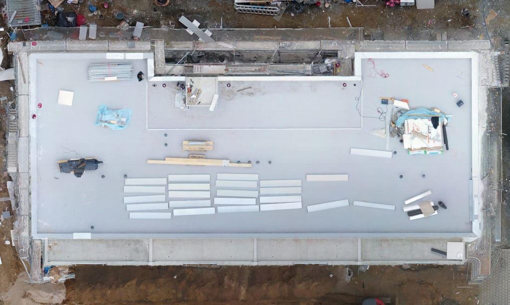 Baufortschritt-Monitoring-Visualisierung-Drohne-BIM-Modell-Vermessungsdrohne