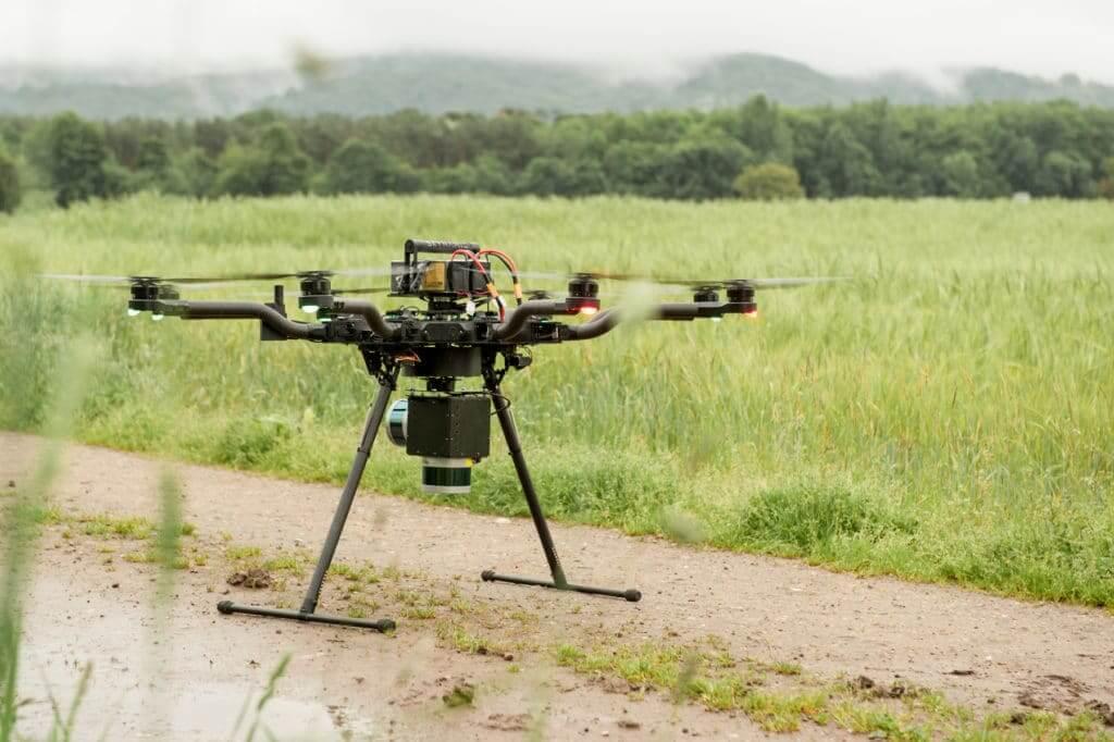 Laserscanning-Service-Drohne-LiDAR-Drohne