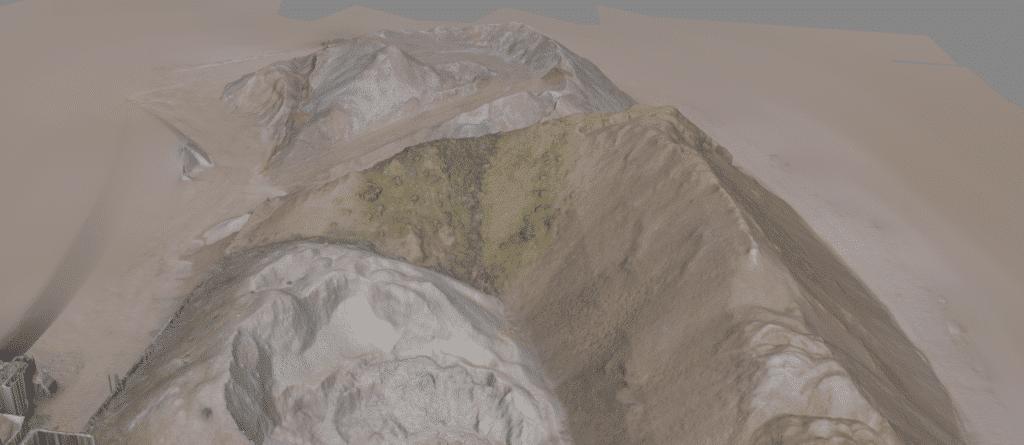 Ergebnis-Punktwolken-Auswertung-3D-Modell-3D-Volumenmodell-zur-Massenermittlung-mit-Drohne