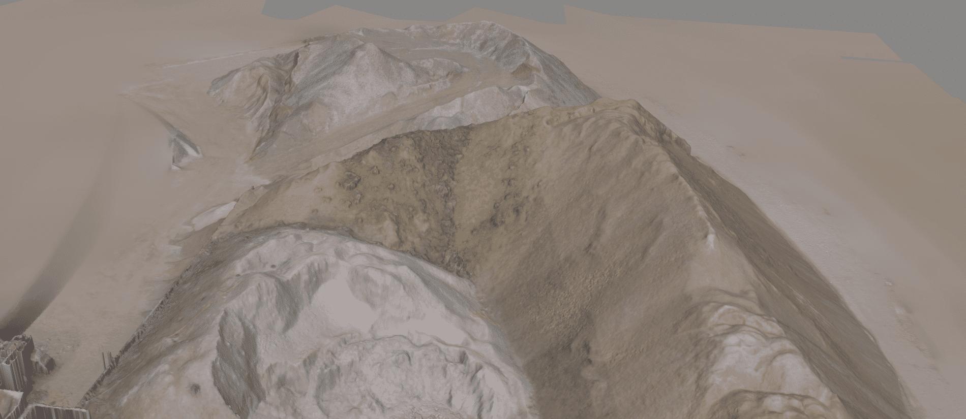 Ausschnitt-Punktwolke-Massenbestimmung-mit-Drohne-durch-3D-Vermessung