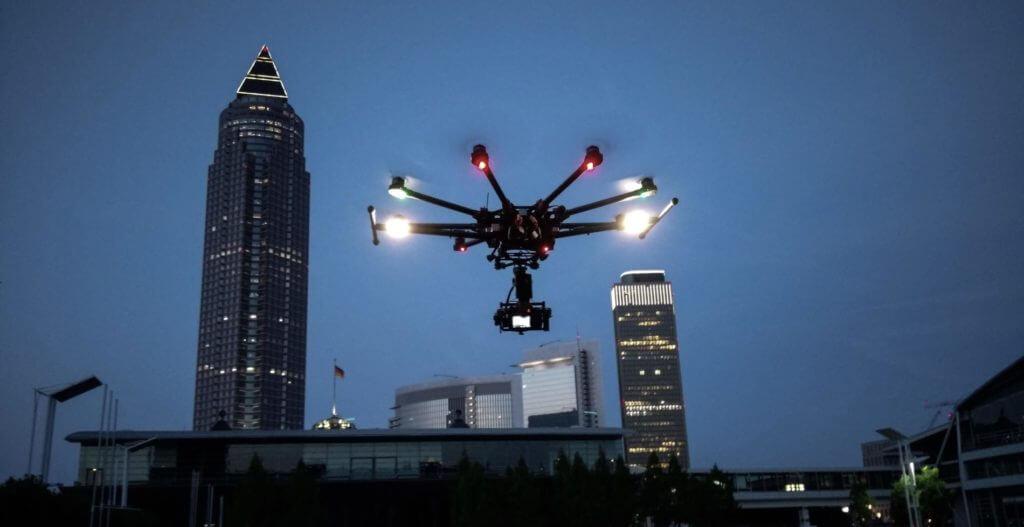 Visualisierung, Monitoring und Dokumentation des Baufortschritts mit Hilfe von Drohnen