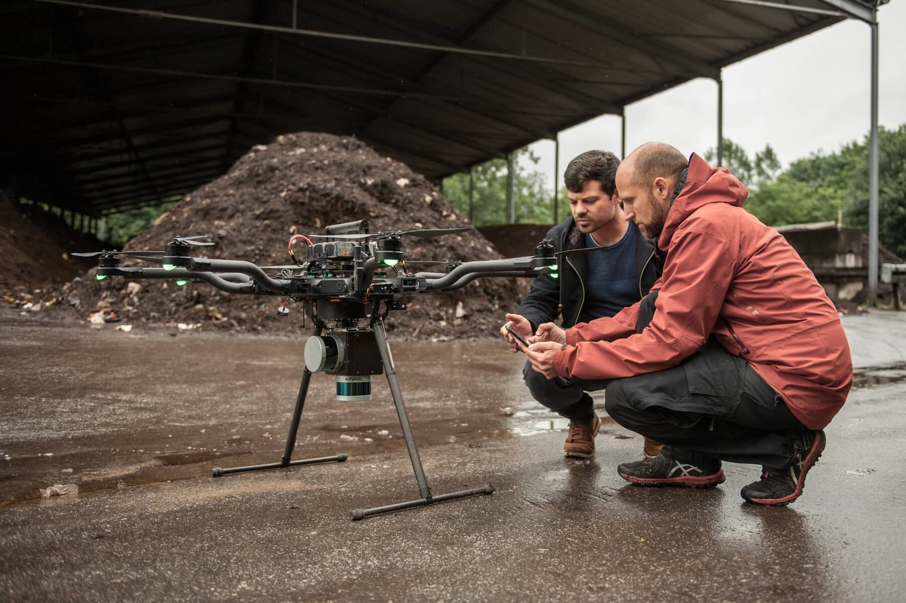 Orthofotos-LiDAR-Drohnen