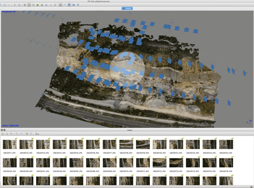 Drohnen Punktwolke – Workflow zur Erstellung von Punktwolken mit Drohnen
