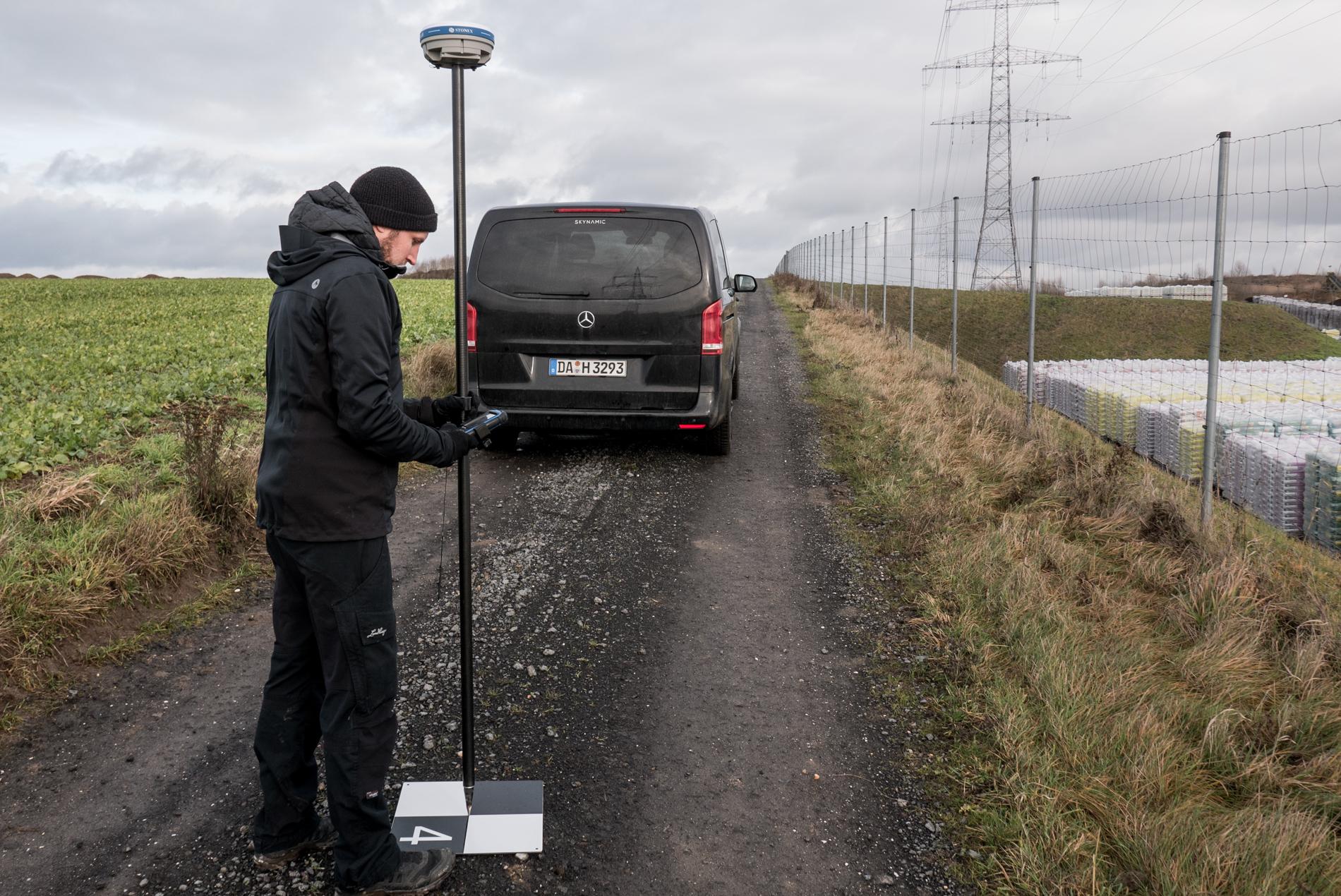 Logxon-Team-GNSS-Vermessung