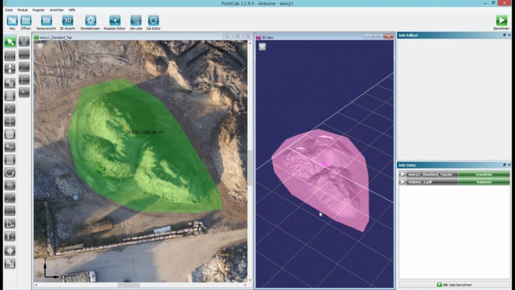 Haldenvermessung-mittels-Drohne-Volumenbestimmung-Massenermittlung-Erdhaufen