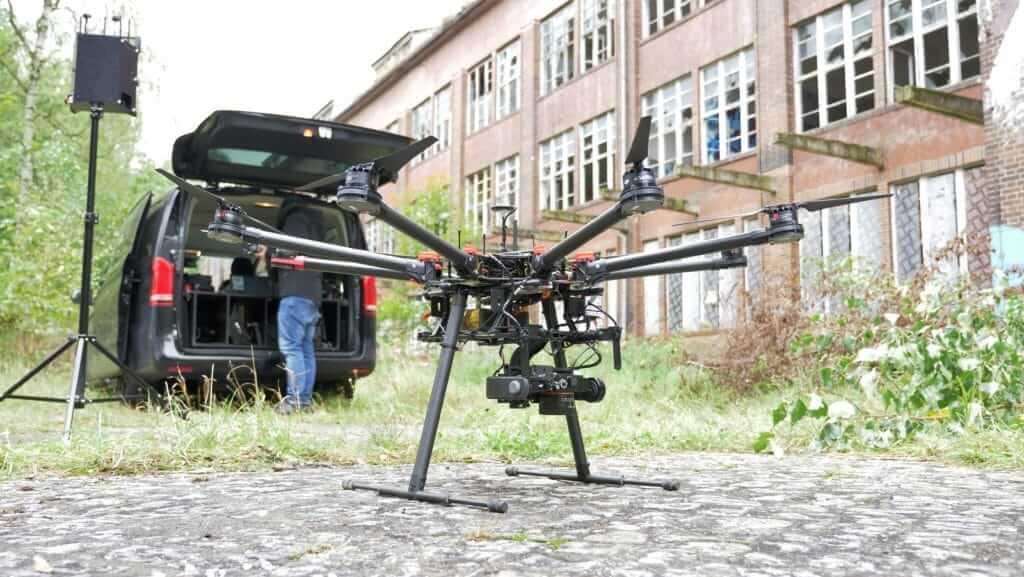 VR-Drohne-Virtual-Reality-Erfassung-fuer-volumetrisches-3D-Modell