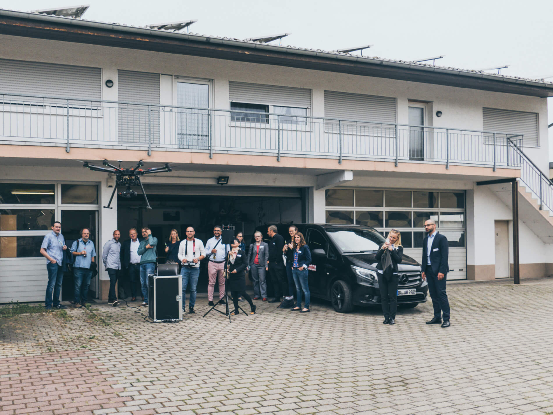 Das Mittelstand 4.0 Kompetenzzentrum Darmstadt und die IHK zu Gast im LOGXON Hangar – Thema: Digitalisierung in Hessen