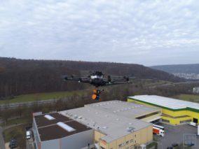 3D-Bestandserfassung-3D-Vermessung-Drohne-mit-GeoSLAM-ZEB-HORIZON-3D-mobile-Scanner-UAV-Laserscanner