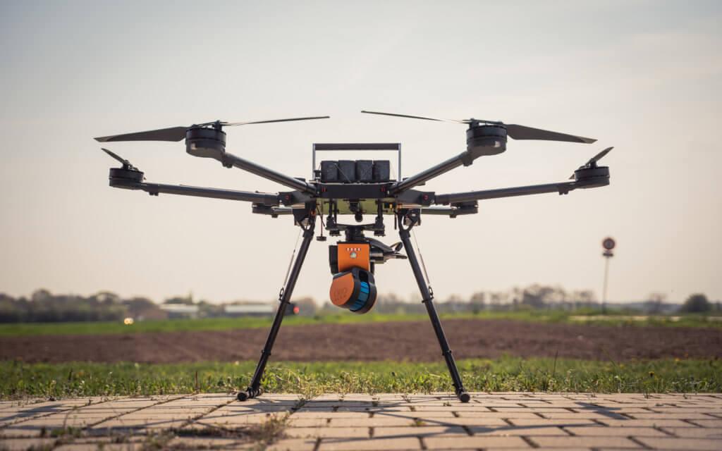 Die PORTER Drohne – erste Einblicke in unsere UAV Entwicklung für LiDAR Scanning & Photogrammetrie