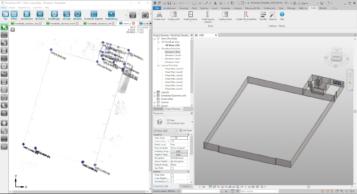 Screenshot-Modellierung-Wände-3D-Modellierung-Pointcab-Autodesk-Revit-3D-Modell