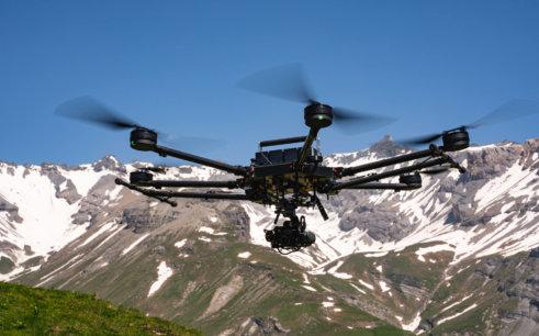 LOGXON-Porter-photogrammetrische-Vermessung-per-Drohne-Bergbahn-Alpen-Schweiz