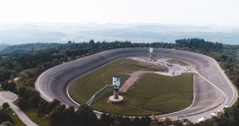 Flächenvermessung-per-Drohne-Stausee-Schwarzwald-Wald-Kraftwerk-Energiewirtschaft-Vermessung