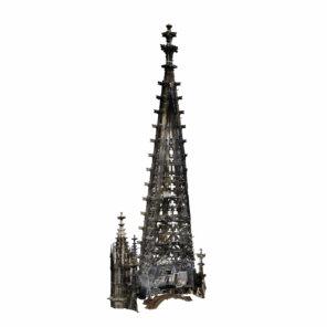 3D-Vermessung-Kirche-Drohne-Photogrammetrie-Laserscanning-Denkmalvermessung-Screen-Rendering-Schnitt-Elisabethenkirche-Turm-Turmspitze-Fasssade-Ansicht-Fassadenansicht-Kirche
