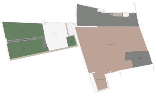 2D-Plan-Grundriss-Kombinierte-3D-Gebaeudeaufnahme-Drohne-Laserscanner-Weingut-Pfalz