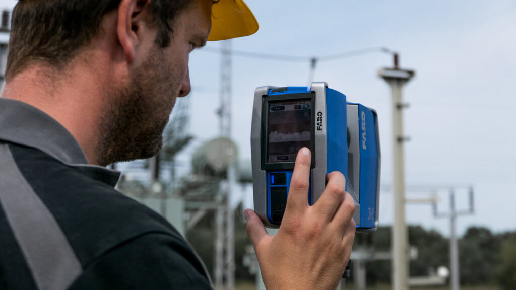 3D-Laserscans-FARO-Laserscanner-Display-3D-LiDAR-Scan-3D-Laserscans-Drohnenaufnahmen-3D-Bestandsmodellierung-Umspannwerk-Rügen-2018