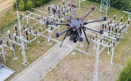 Photogrammetrie-Drohne-LOGXON-DJI-S1000-plus-Sony-rx1-mk2-3D-Laserscans-Drohnenaufnahmen-3D-Bestandsmodellierung-Umspannwerk-Rügen-2018