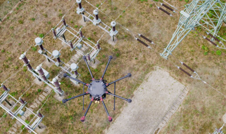 Topshot-Photogrammetrie-Drohne-LOGXON-DJI-S1000-plus-Sony-rx1-mk2-3D-Laserscans-Drohnenaufnahmen-3D-Bestandsmodellierung-Umspannwerk-Rügen-2018