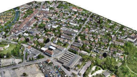 schrägbild-luftbild-foto-3D-visualisierung-3d-rendering-cgi-mesh-modell-biehl-schweiz-drohne-scan-6