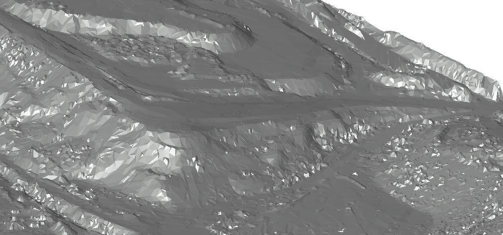 Screenshot-Dreiecksvermaschung-Digitales-Gelaendemodell-DGM-digitale-Gelaendemodelle-aus-Punktwolke-Klassifiziert-gefiltert-nach-Bodenpunkte