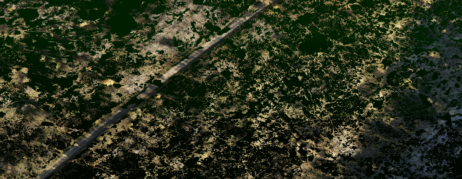 Klassifizierte-Punktwolke-gefiltert-nach-Bodenpunkten-fuer-digitales-Gelaendemodell-Hoehenmodell-Oberflaechenmodelle-DGM-DHM-DOM