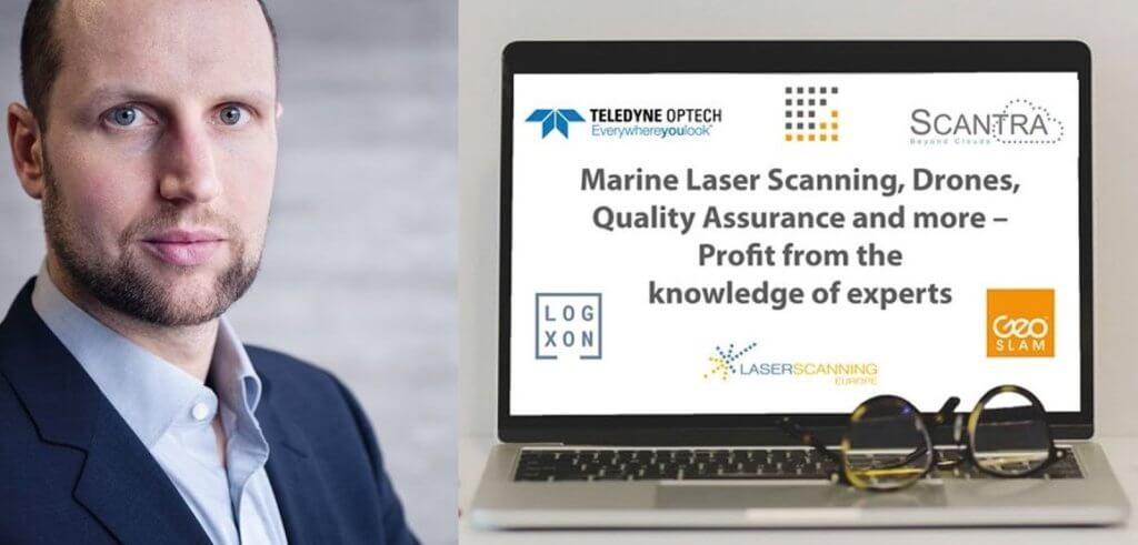 LOGXON im PointCab Webinar – Simultane Auswertung von terrestrischen Laserscans & Drohnenaufnahmen