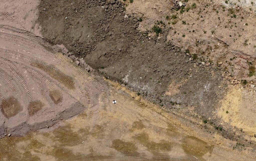 Luftbild-Messbild-Passpunkt-Checkerboard-Target-CP-DAP-Photogrammetrie-Genauigkeit-und-Auswertung-von-digitalen-Drohnenaufnahmen